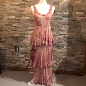 Free People New Romantics Tiered Hippie Maxi